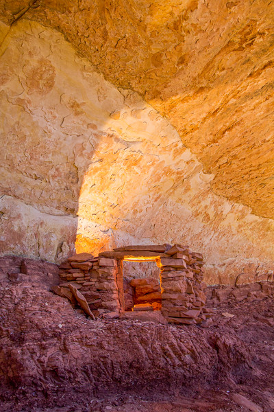 Ancestral Puebloan storage structure, Bears Ears National Monument and environs, San Juan County, Utah