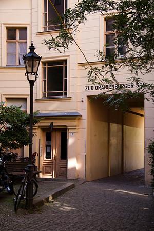 Heckmann Höfe. First Courtyard off of Auguststraße.