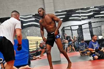 "JOHNNY ""BONES"" JONES, TRAINING AT JACKSON'S MMA THREE WEEKS BEFORE WINNING THE UFC LIGHT HEAVYWEIGHT TITLE, 2011"