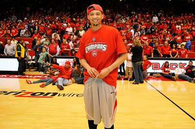 DARRINGTON HOBBS, FORMER NEW MEXICO LOBO & FIRST ROUND NBA SELECTION, 2010