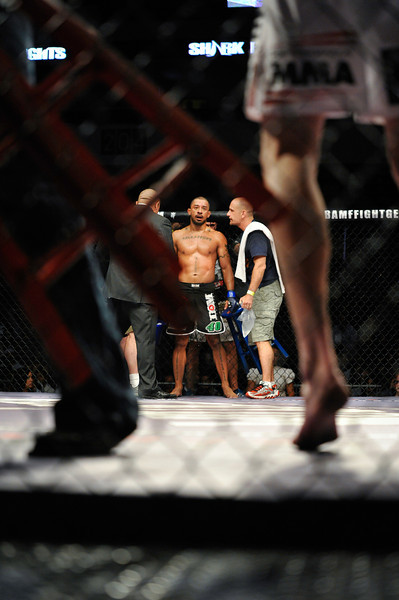 MMA VET JOEY VILLASENOR, SHARKFIGHTS, 2011
