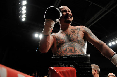 JOHNNY TAPIA, FIVE-TIME WORLD CHAMPION BOXER, 2010