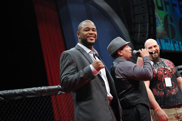 UFC LIGHT-HEAVYWEIGHT VETERAN, RASHAD EVANS, JACKSON SERIES MMA, 2011