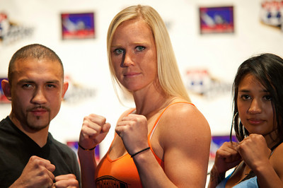 WORLD CHAMPION BOXER, HOLLY HOLM, 2011