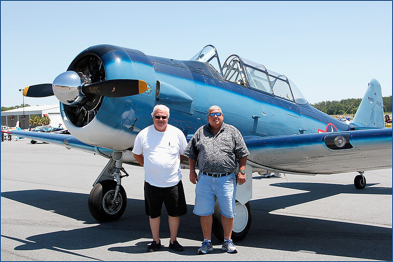 JACK LOCKWOOD AND DENNIS SPITALERI -1950 T6-G - SNJ5 (N35CE)