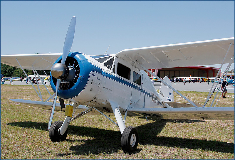 1936 WACO YKS-6 (NC16241) REGISTERED AS  (N16241) - NOTE THE OIL CAN UNDER THE COWLING (3)