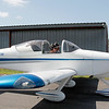 TOM LONGO AND PASSENGER WITH THE RV9 ON THE MOVE (2)