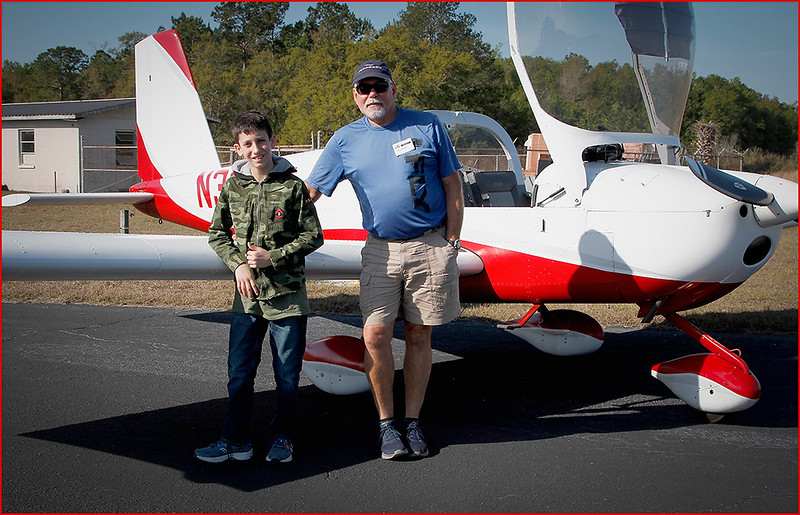 2019-03-09 YOUNG EAGLES RALLY - MARTY KELLER (RV12) AND YOUNG EAGLE