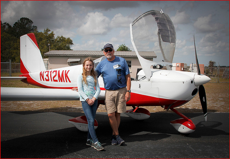 2019-03-09 YOUNG EAGLES RALLY - MARTY KELLER (RV12) AND YOUNG EAGLE (4)