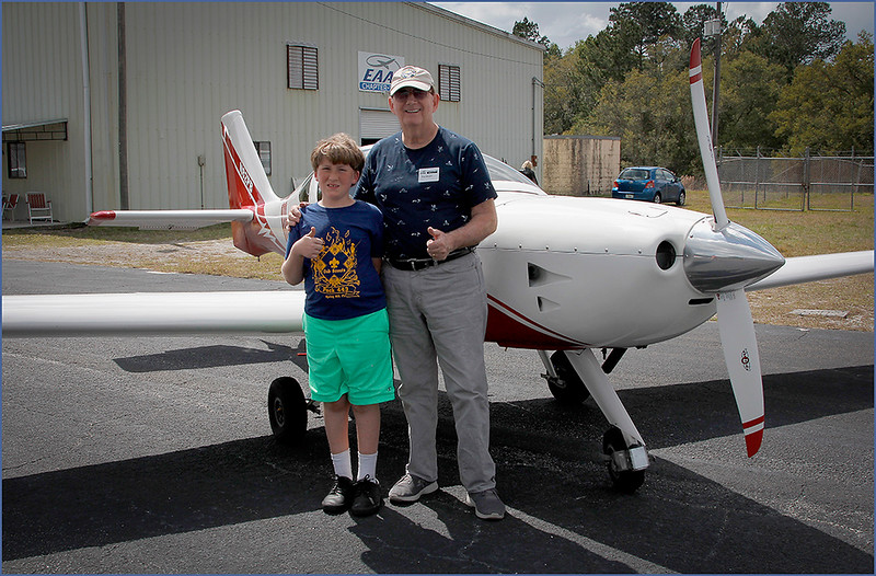 2019-03-09 YOUNG EAGLES RALLY - PAUL BRYANT (LIGHTING) AND YOUNG EAGLE (7)