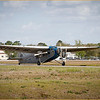 2020-03-02 EAA FORD TRI-MOTOR ARRIVES AT KBKV (TAXING TO THE RAMP AT GLOBAL JET CARE - 2)