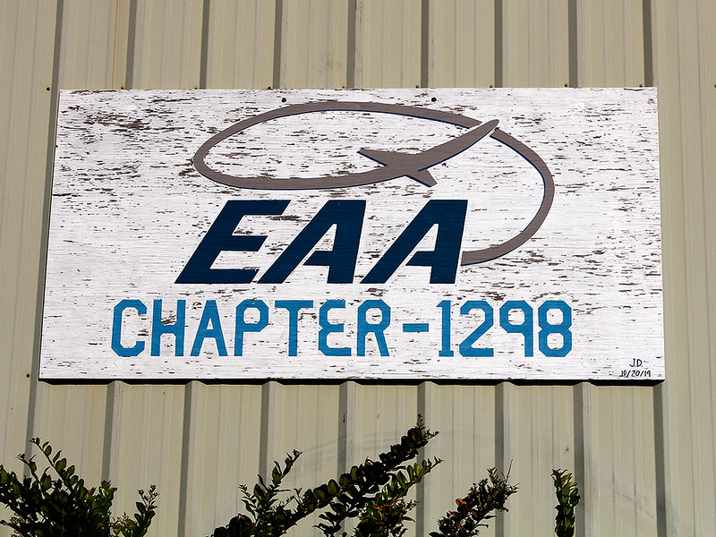 EAA CHAPTER 1298 HANGER SIGN