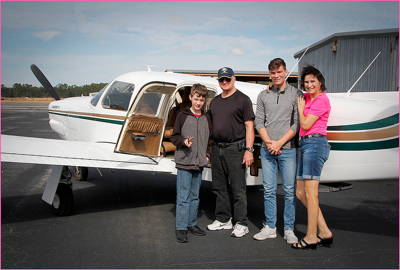 2018-12-08 PIPER LANCE PILOT DON, A GROUP OF YOUNG EAGLES, AND A PARENT (3)