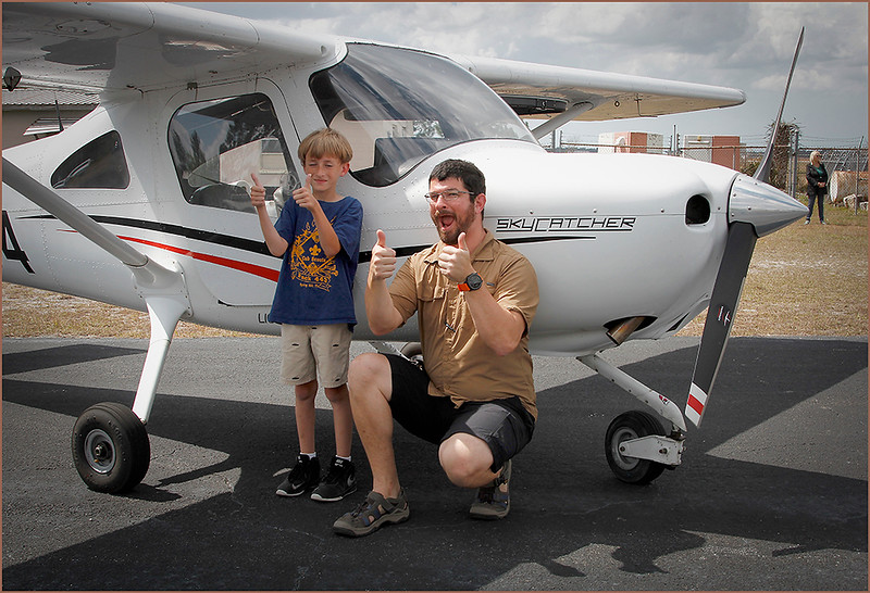 2019-03-09 YOUNG EAGLES RALLY - COLIN ARNOLD (CESSNA 162 SKYCATCHER) AND YOUNG EAGLE (5)