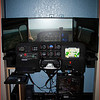 SIMULATOR V1 0 BUILD-UP COMPLETE - SHOWING THE X-PLANE INSTRUMENT PANEL