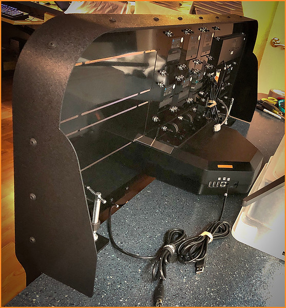 LEFT REAR OF THE INSTRUMENT PANEL