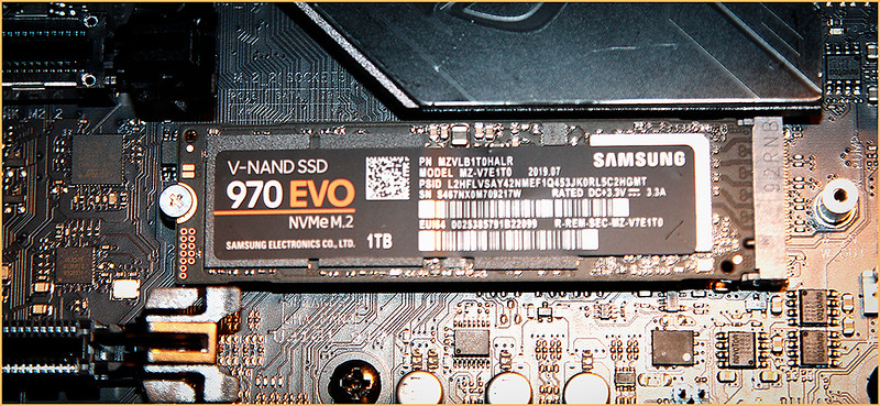 VIC9000 BUILD UP - M 2 DRIVE USED FOR THE OS AND SIM PROGRAMS ONLY