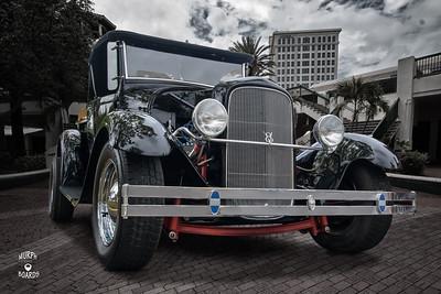 1929FordPickupBlackRFLowRvrWalkDC
