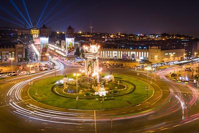 'The City Comes to Life' - Plaza de España, Barcelona, Spain
