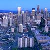 Seattle Skyline and Mt. Rainier, Seattle,  Washington