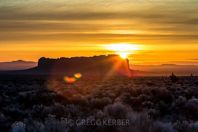 Fort Rock sunrise