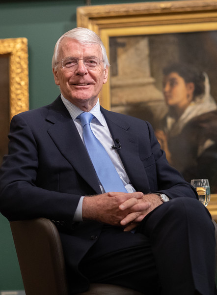Sir John Major at Guildhall charity event for PR Practitioners