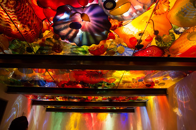 Colors in the glass museum