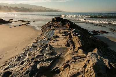 August 26, 2014: Early morning in Laguna along the beach.