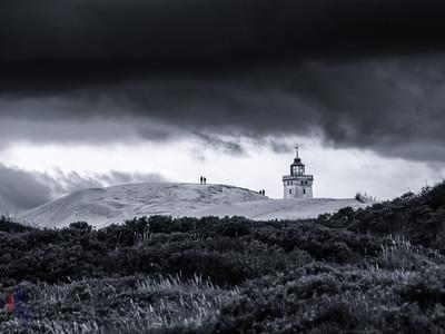 Sturmwolken über Rubjerg Knude Fyr