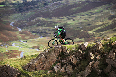 Mountain biking, UK Lake District