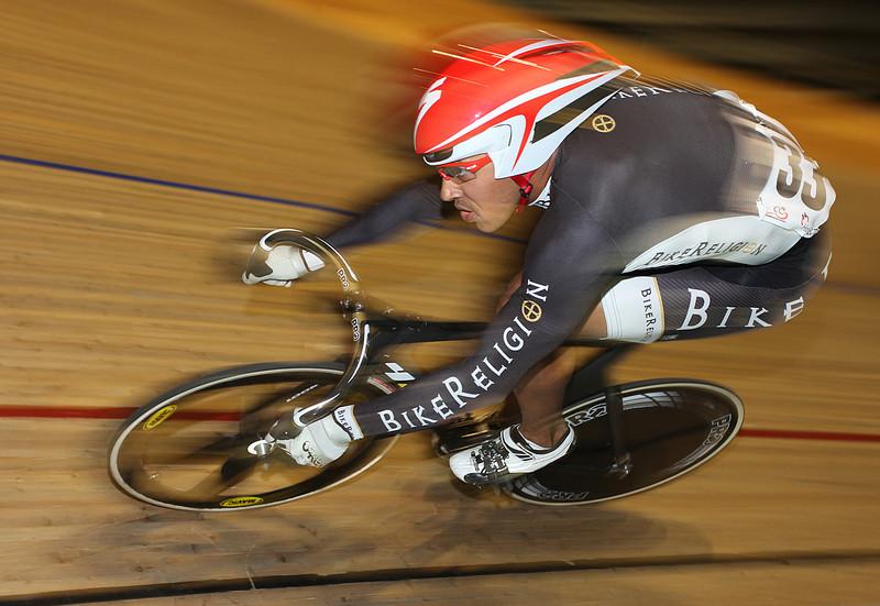 Perth Track GP 2009. Giddeon Massie, USA