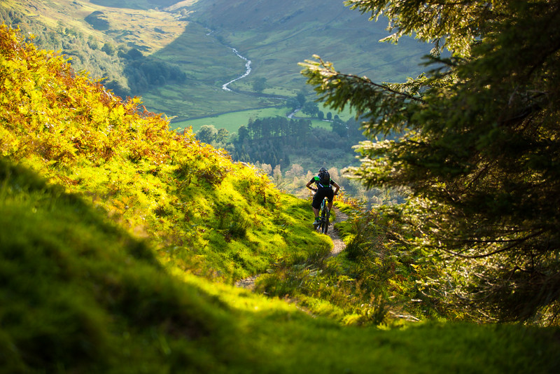 Lake District, UK, mountain biking