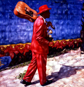 The Humble Heroics of the Musical Poet ~ Official Artwork for the 47th Annual Grammy Awards