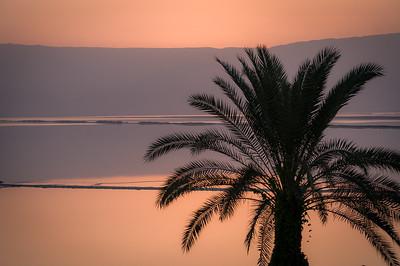 Sun Rise over the Dead Sea