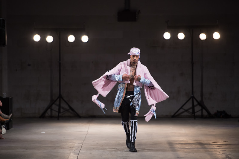 Designs by Dorin Radvany<br />  Amsterdam Fashion Institute<br /> AMFI Graduation Event<br />  Location Pakhuis West<br /> Elementenstraat 25, 1014 AR Amsterdam, Netherlands, on 11th of January 2017