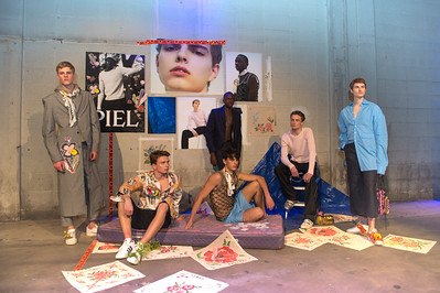 Designs by Stephen Piel,  Amsterdam Fashion Institute AMFI Graduation Event  Location Pakhuis West Elementenstraat 25, 1014 AR Amsterdam, Netherlands, on 11th of January 2017