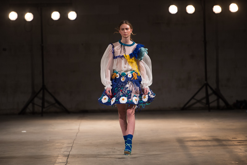Designs by Dahlia Alsudi<br /> Amsterdam Fashion Institute<br /> AMFI Graduation Event<br />  Location Pakhuis West<br /> Elementenstraat 25, 1014 AR Amsterdam, Netherlands, on 11th of January 2017