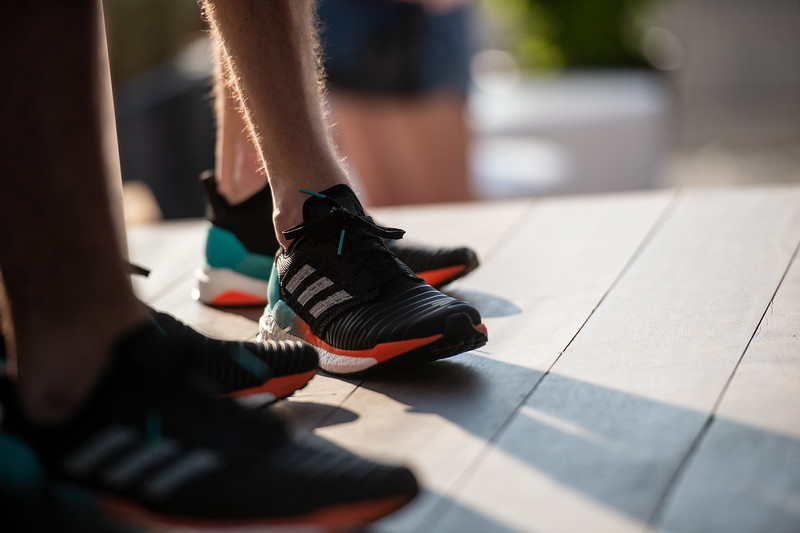 Adidas Solar Boost Campaign Launch