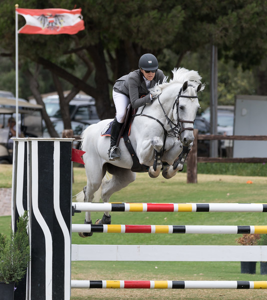Michelle Parker on Con Air Jr. Owned by Antonio Ramos<br /> Blenheim Racing Festival 7/29/17