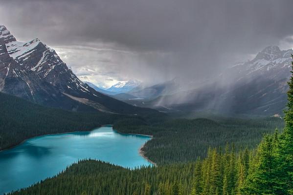Peyto Lake, Banff National Park, Canada.