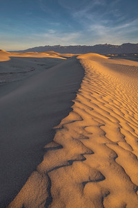 Sunrise, Mesquite Sand Dunes, Death Valley