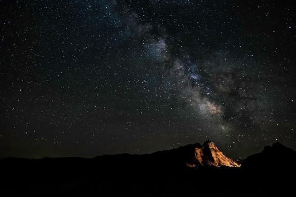 Badlands Milky Way
