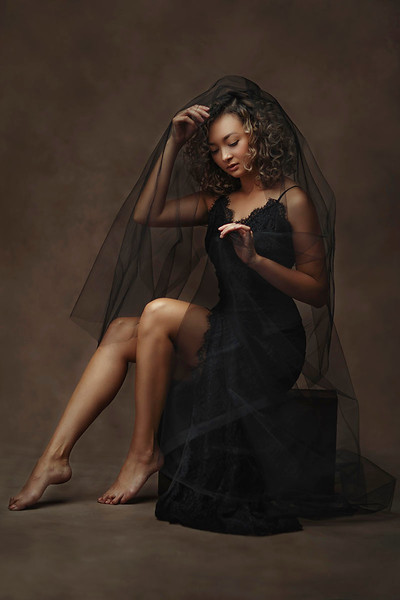 Female Fine Art Studio Portrait Photography