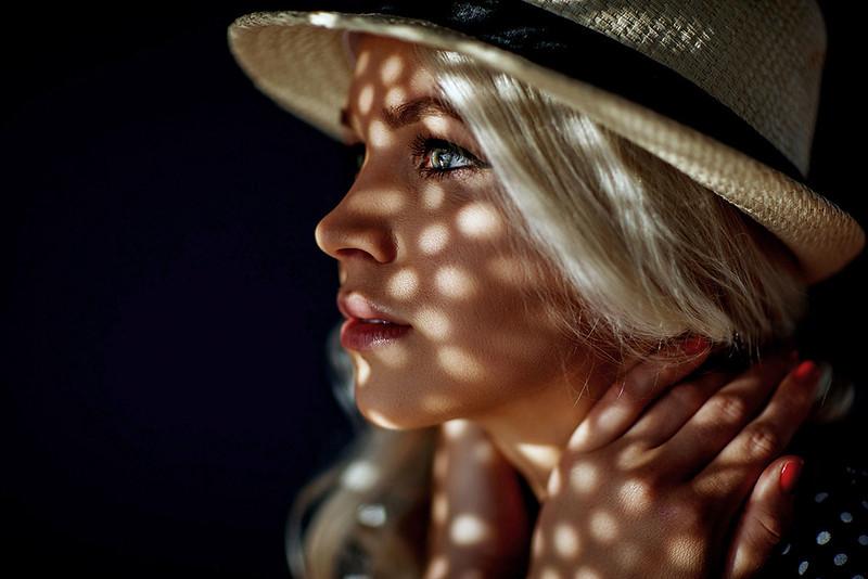 Female Fine Art Studio Portrait Photography