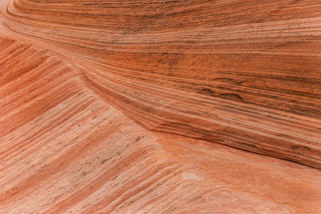 Strata patterns, White Pocket, Vermillion Cliffs National Monument, Arizona