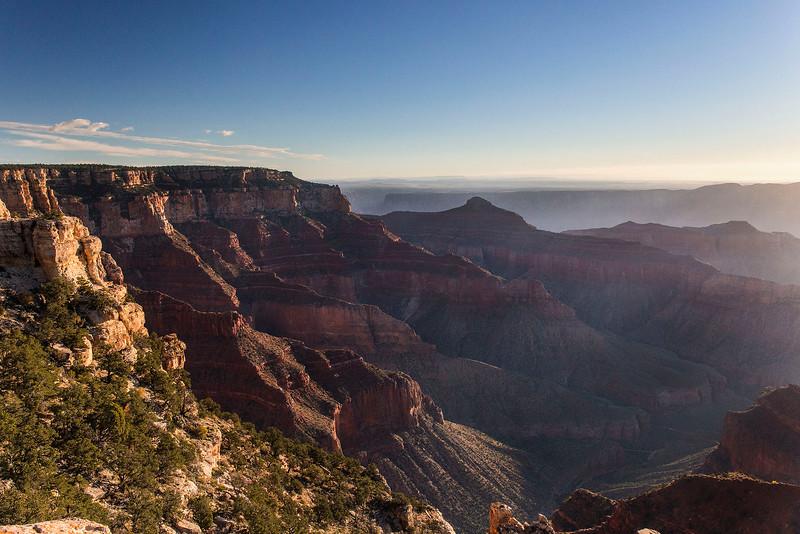 Sunrise, Cape Royal, North Rim, Grand Canyon National Park, Arizona