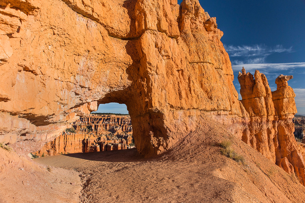 Hole in the Ridge, Peekaboo Trail, Bryce Canyon National Park, Utah