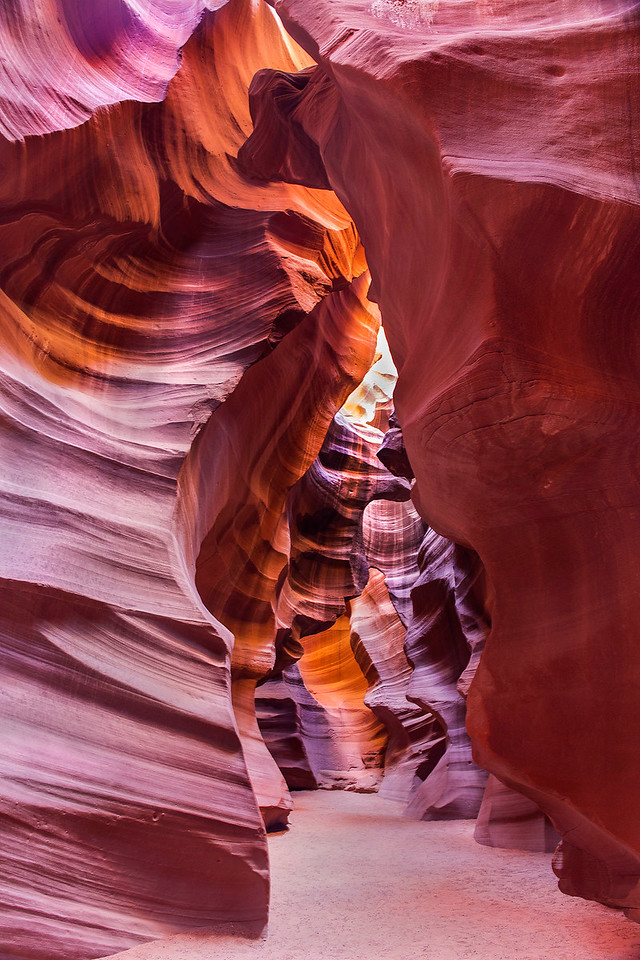 Upper Antelope Canyon, Antelope Canyons area, near Page, Arizona