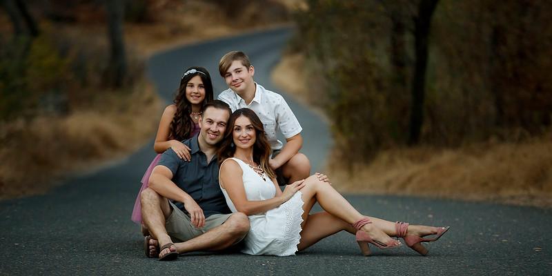 Sacramento family photographer during outdoor photo session. Folsom family photographer.