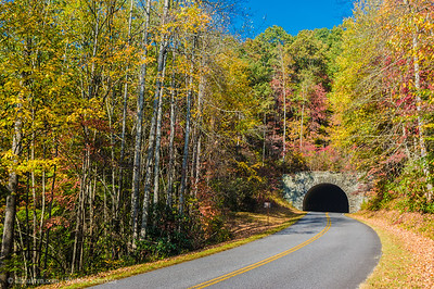 Sherrill Cove Tunnel, Blue Ridge Parkway